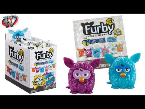 Furby Mash'ems Mystery Figure Blind Bags Toy Review. Tech 4 Kids