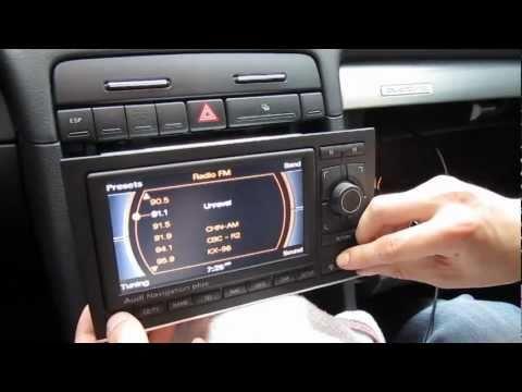 Audi A3. A4. A5. A6 RNS-E iPod iPhone AUX adapter