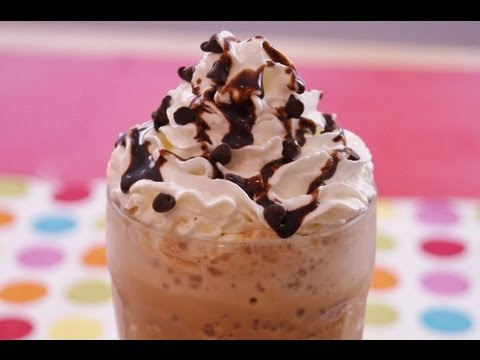 Starbucks Double Chocolate Chip Frappuccino: Recipe: How To Make Frappuccino: Dishin' With Di #95