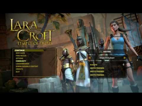 Lara Croft and the Temple of Osiris bemutató