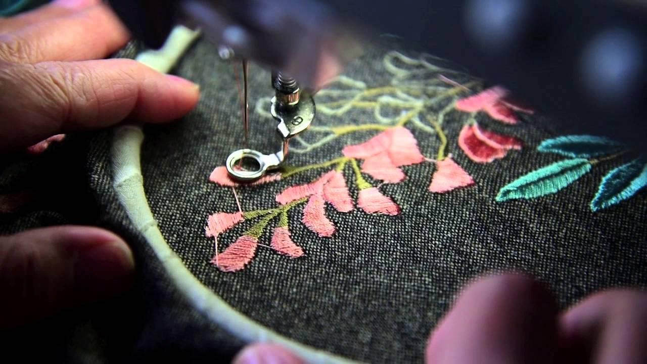 Вышивка машинная как вышивать 60