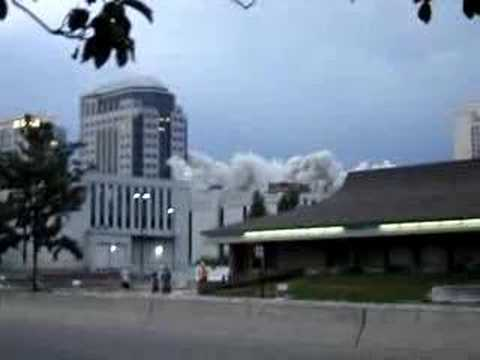 Key Bank Building, Salt Lake City Implosion