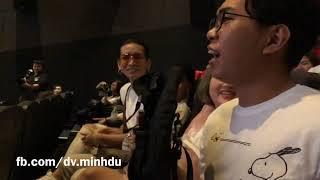 """Minh Dự & BB Trần hỏi khó làm Nam Thư """"cứng họng"""" tại Họp báo"""