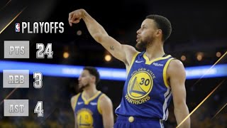 Stephen Curry - Full Highlights Vs angeles Clippers - Game 5 - Playoffs 2019 - (24/04/2019)
