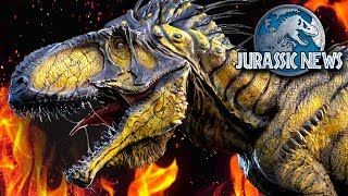 INDOMINUS REX CONCEPT! STEGOCERATOPS CUT FROM FILM AND MERCHANDISE REVEALS! | Jurassic News