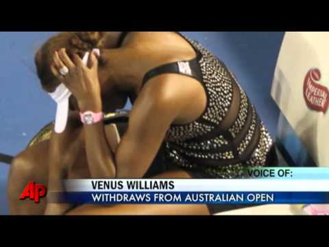 Venus Williams Withdraws From Australian Open