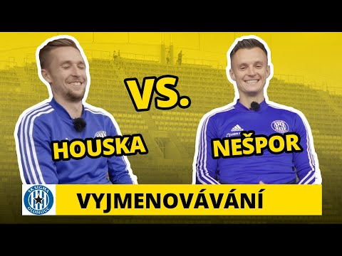 Vyjmenovávání v Olomouci: David Houska a Martin Nešpor