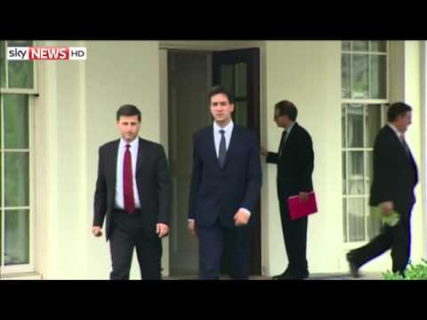 Miliband And Obama In 'Warm And Friendly' Talks - 22/07/2014
