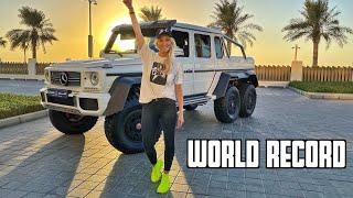 World Record Breaking 6-Wheel Mercedes!