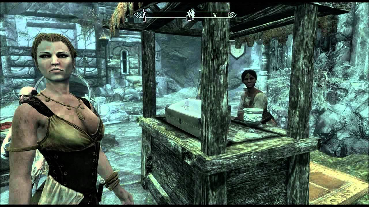 Skyrim: Hottest woman and her