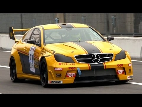 V8 Race Cars Sound Battle: 300C SRT8 vs. XFR vs. C63 AMG vs. CTS-V