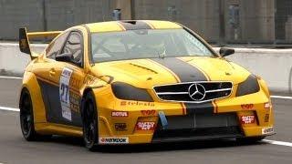 V8 Race Cars Sound Battle: 300C SRT8 vs. XFR vs. C63 AMG vs. CTS-V