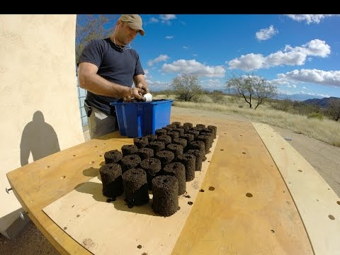 Making soil blocks with soil block makers how to save for Soil yourself