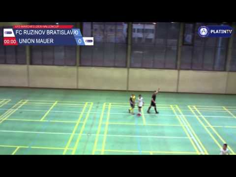 Tor -  FC Ruzinov Bratislava / Union Mauer am 13.02.2016 17:23