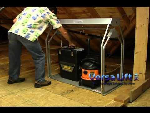 Versa Lift Garage To Attic Storage Elevator How To Save