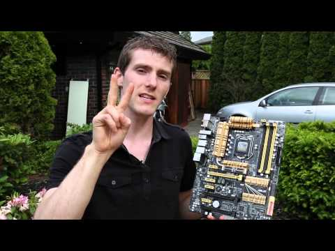 ASUS Z87-Deluxe Motherboard Unboxing & Overview