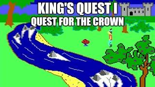 King's Quest I playthrough (EGA version)