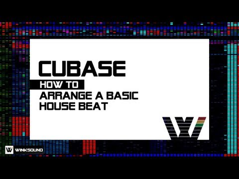Cubase: How To Arrange A Basic House Beat Using 5Pin Media Samples | WinkSound