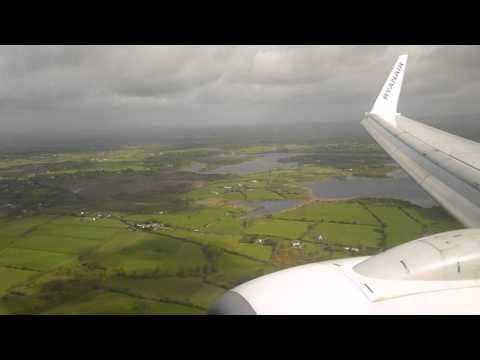 [HD] | RYANAIR | Boeing 737-8AS | EI-EGC | Landing Shannon Airport | EINN | 12/05/2015