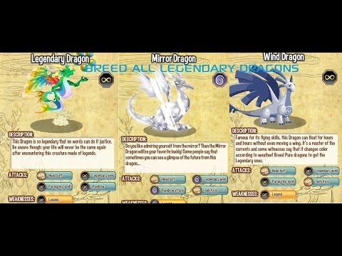 ☆How To Breed All Legendary Dragons? Latest And Very Easily 2014☆ ( 100% Work ) with proof