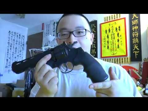 Crosman Vigilante Co2 Revolver (.177 Cal) Review. Shooting. Chrono