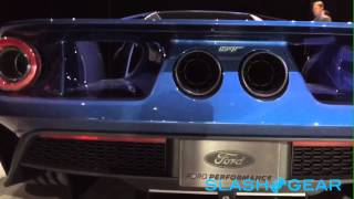 Ford GT NAIAS Exhaust sound