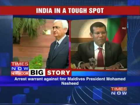 Former Maldives President seeks refuge in Indian embassy.