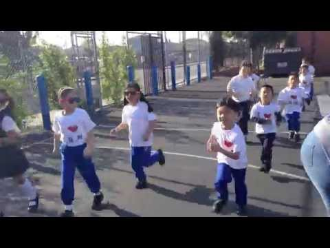 Jogging kids