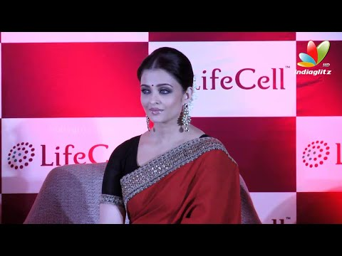 Aishwarya Rai Launches 'Public Stem Cell Bank' In Chennai | Umbilical cord blood stem cell Banking
