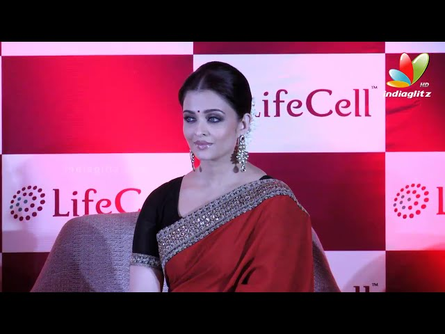 Aishwarya rai Bachan at Launching Lifecell