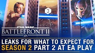 Latest LEAK for EA Play + Clone Wars Season 3 Reveal? | Battlefront Update