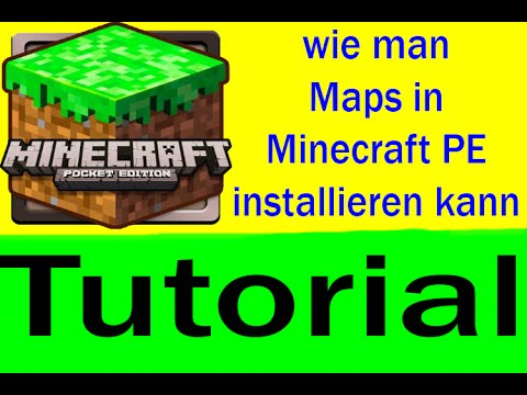 Minecraft PE-Maps installieren [Deutsch/German]