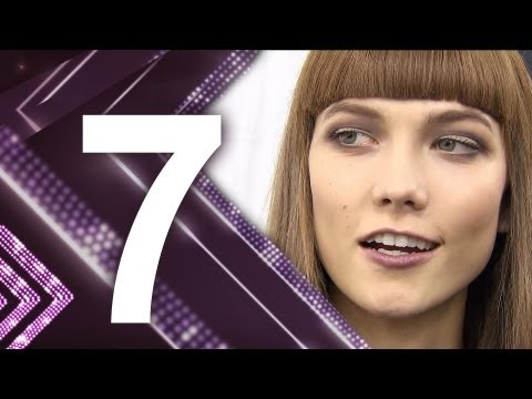 First Face - #7 Karlie Kloss - First Face Countdown Fall 2012 | FashionTV