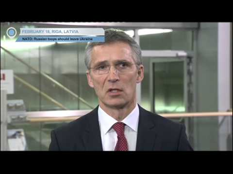 NATO Urges Russian Troops to Leave Ukraine: Militants' truce violation 'threatens Minsk agreement'