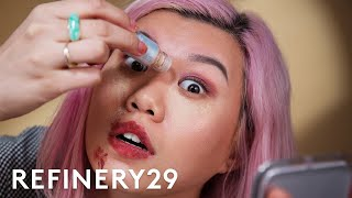 POWDER LIPSTICK AND MASCARA??? | Beauty With Mi | Refinery29