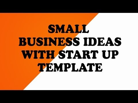 Small Business Ideas   Start up Template