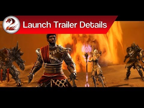 Guild Wars 2: Path of Fire Launch Trailer | Closer Look at the GW2 PoF Launch Trailer