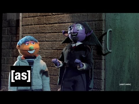 Sesame Street Meets Blade | Robot Chicken | Adult Swim