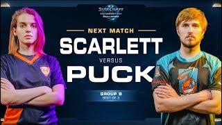 Scarlett vs puCK ZvP - WCS Challenger 2018 Season 3 – NA