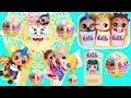 Lil Punk Boi LOL Surprise Dolls Sisters New Fair Mansion House + Wedding with JOJO SIWA Get Married