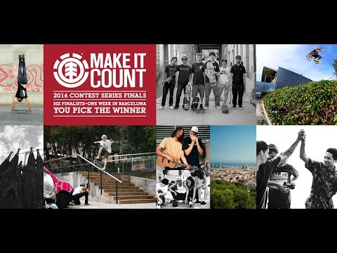 ELEMENT MAKE IT COUNT 2016 GLOBAL FINALS