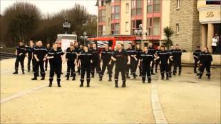 hd Flash mob Sapeur Pompier de Dinan