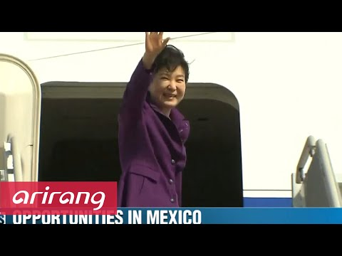 Business Daily _ President Park to Mexico