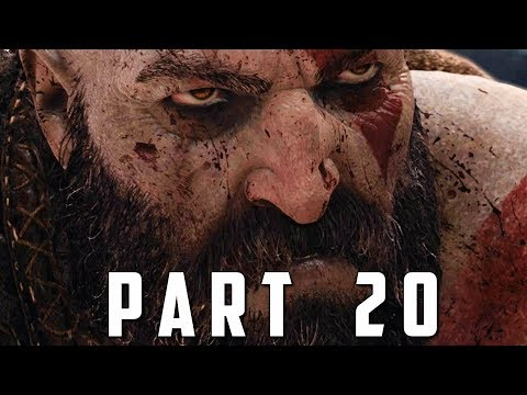 GOD OF WAR Walkthrough Gameplay Part 20 - THE CAVE (God of War 4)