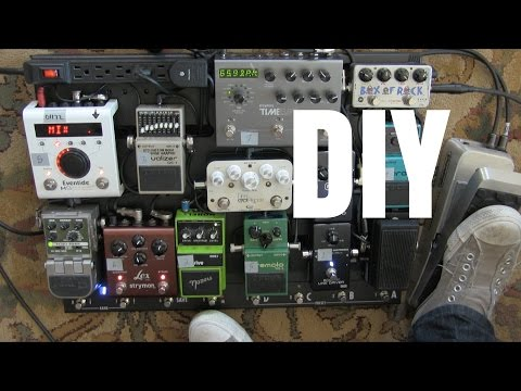 How To Build A Pedalboard | DIY Tutorial | Guitar Effects Pedals | Tim Pierce Masterclass