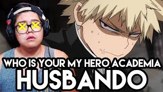 Who is Your Husbando from My Hero Academia Quiz | -Waifu- Wednesday