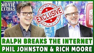 RALPH BREAKS THE INTERNET | EXCLUSIVE Interview With Phil Johnston & Rich Moore