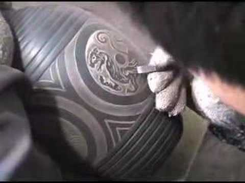 Making Black Pottery