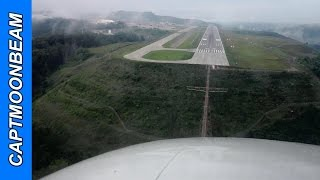 Patchy Fog, Citation Bravo Landing at Charleston, WV:  Yeager Airport
