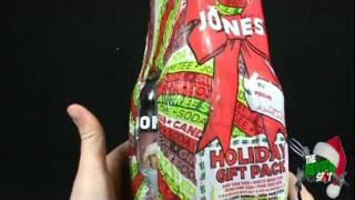 Christmas Spot - Jones Soda 2011 Flavour Pack